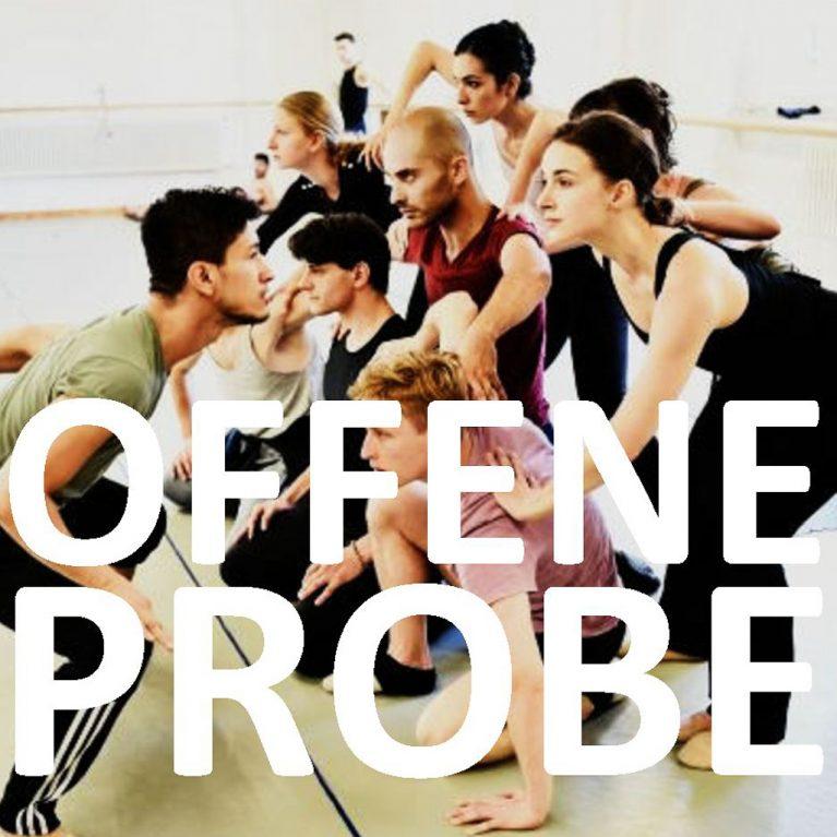 Offene Probe Ballett Beitragsbild