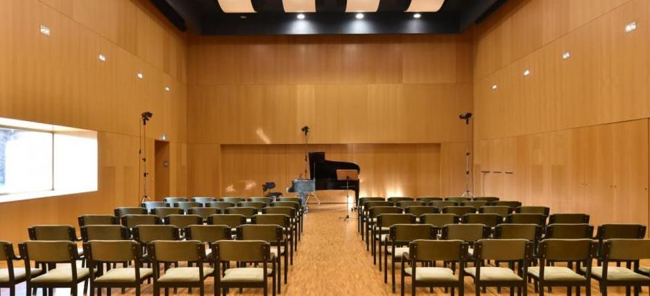 Kammermusiksaal flache Perspektive