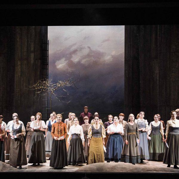 Staatstheater Cottbus DER FLIEGENDE HOLLÄNDER Romantische Oper von Richard Wagner Szenenfoto Foto: Marlies Kross