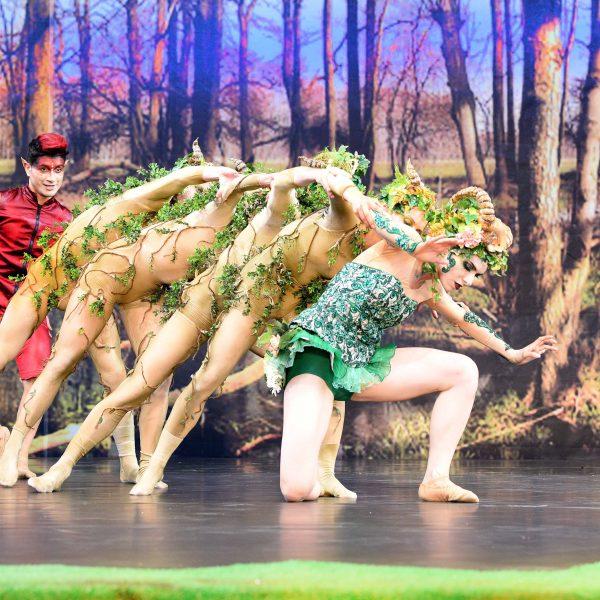 Staatstheater Cottbus EIN SOMMERNACHTSTRAUM Ballett von Jason Sabrou und Dirk Neumann frei nach der Komödie von William Shakespeare Uraufführung Szenenfoto Foto: Marlies Kross