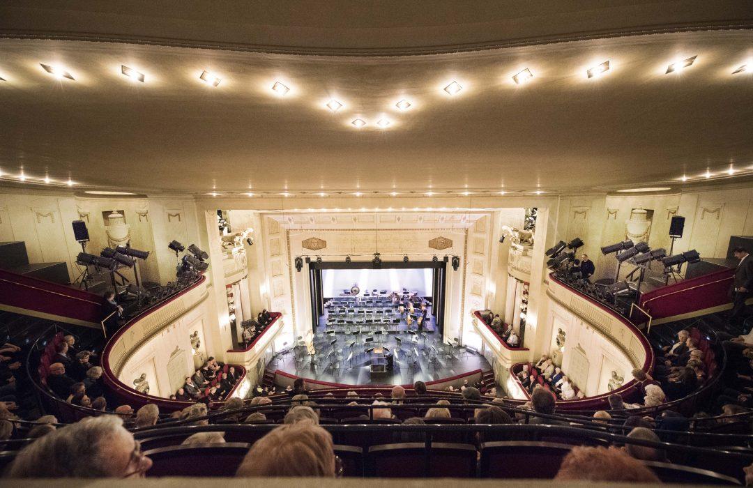 Jahreswechsel_Orchester - Kurz vor Konzertbeginn