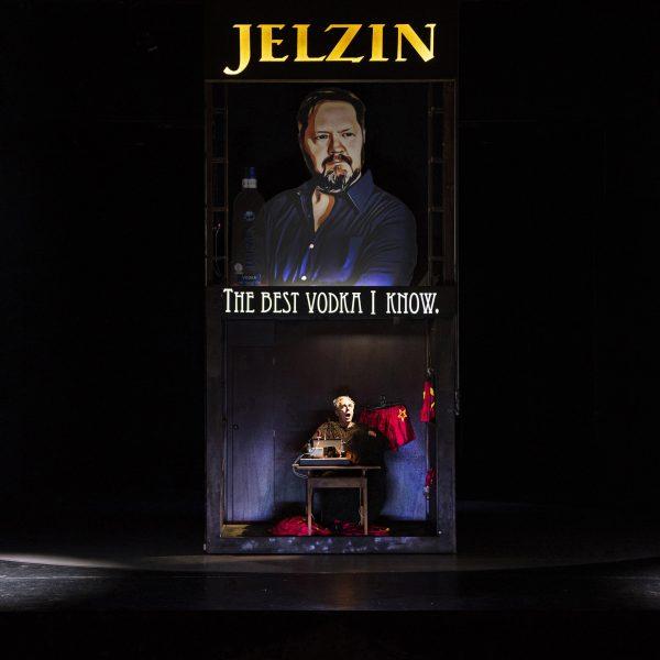 Staatstheater Cottbus MAZEPPA Oper in drei Akten von Pjotr I. Tschaikowski Szenenfoto mit Ulrich Schneider (Kotschubej) (Foto: Marlies Kross)