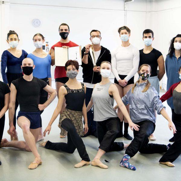Das Ballettensemble des Staatstheaters Cottbus hat den Max-Grünebaum-Preis 2020 erhalten. (Foto: Marlies Kross)