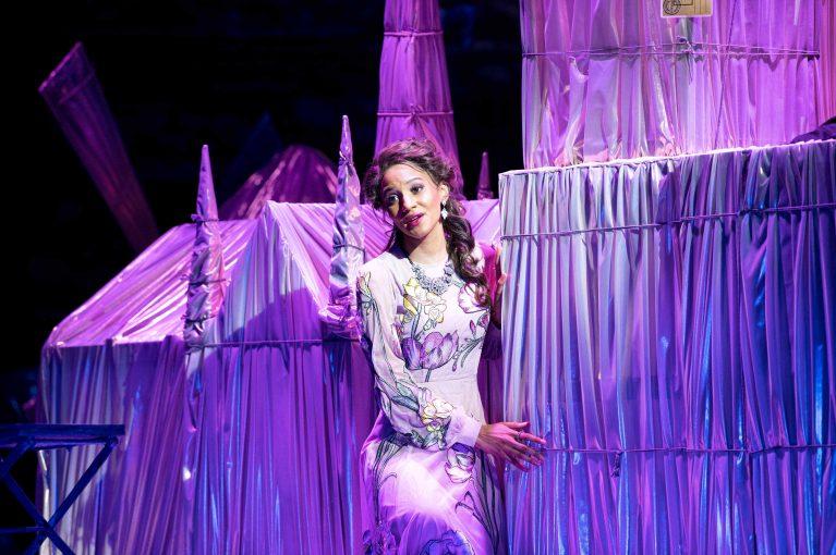 Staatstheater Cottbus DIE LUSTIGE WITWE Operette in drei Akten von Franz Lehár Szenenfoto mit Georgina Melville (Valencienne) (Foto: Marlies Kross)