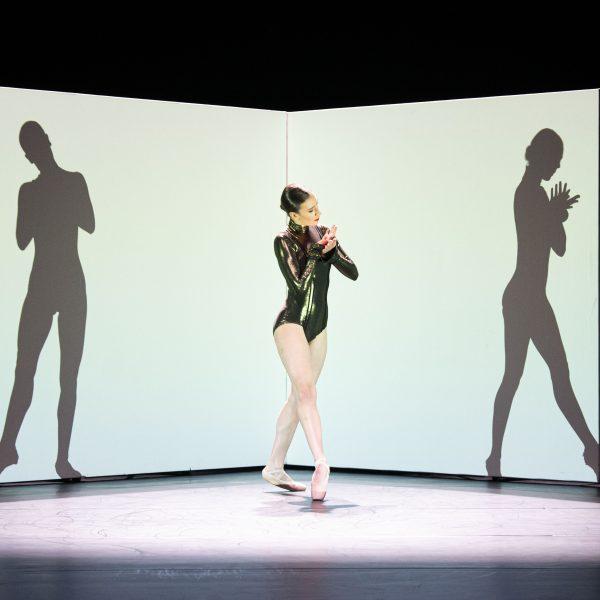 Staatstheater Cottbus SHAKESPEARES SONETTE Ein Ballettabend von Jörg Mannes (Uraufführung) Szenenfoto mit Alessandra Armorina (Foto: Marlies Kross)